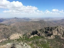 Vista from Mt. Livermore