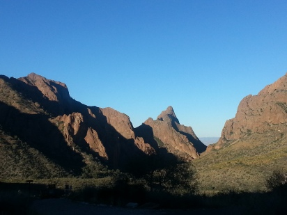 Vista from the Chisos campground