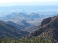 View from South Rim of Chisos