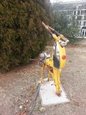 Reindeer in Marfa