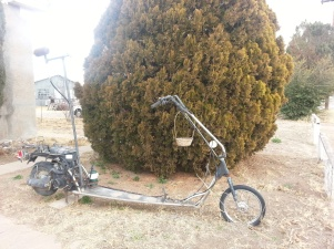 Bike in Marfa