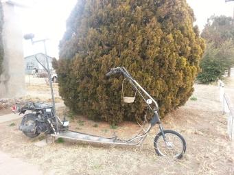 Bike in Marfa
